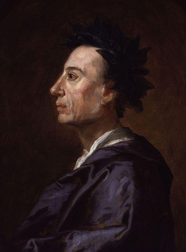 Alexander Pope by Jonathan Richardson (c1738)