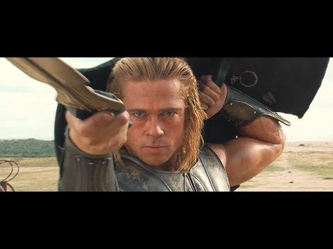 Say What You Will About Troy 2004 It Had Some Of The Best Fight Choreography This Fight Is Suspenseful Contrasts Two Characte Movie Scenes Hector Movie Clip
