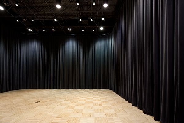 Wall Of Black Drapes Dance Studio Decor Dance Rooms Dance Studio Design