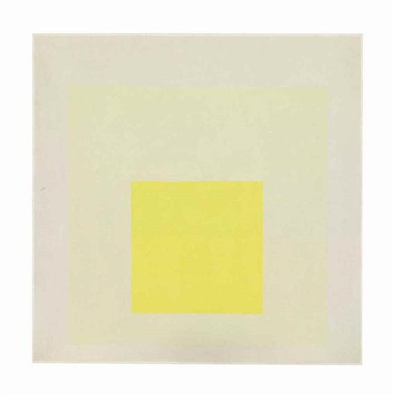 Josef Albers, Study for Homage to the Square Light