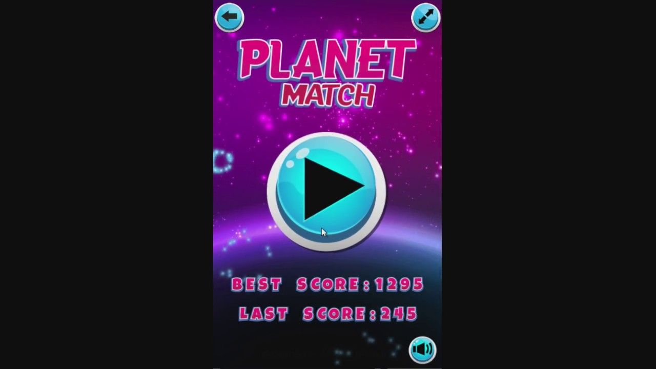 Planet Match Match The Planets To Gain Time And Points Play Right Planets Games