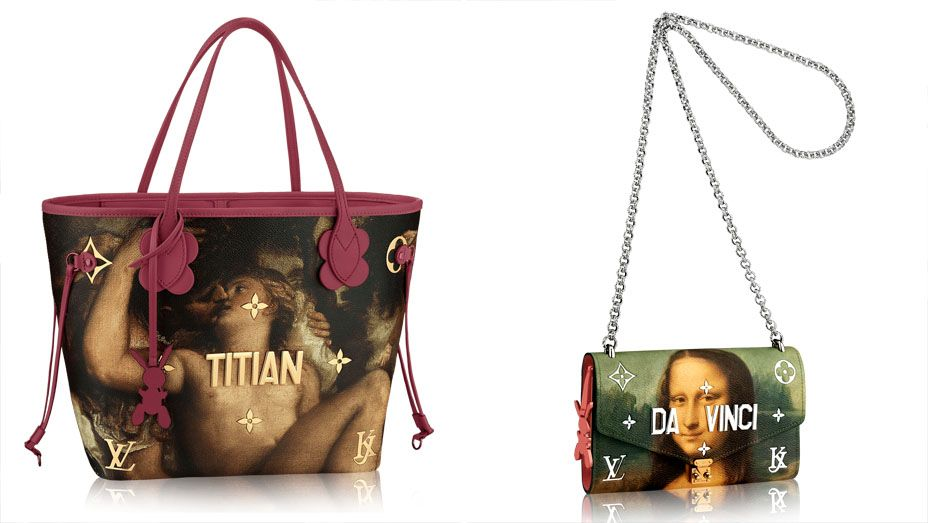 6730ad3fb3b3 The Rather Repulsive - Louis Vuitton x Jeff Koons Collab Is Here