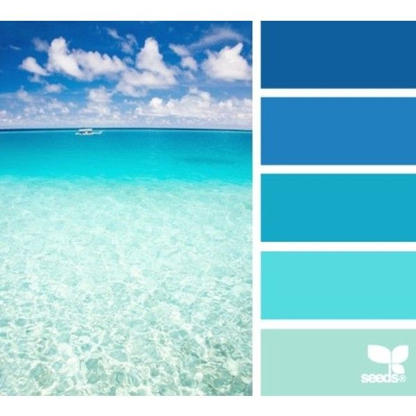 Tropical Beach Color Palette: Blurb Ebook: Design Seeds By Seed Design Consultancy LLC