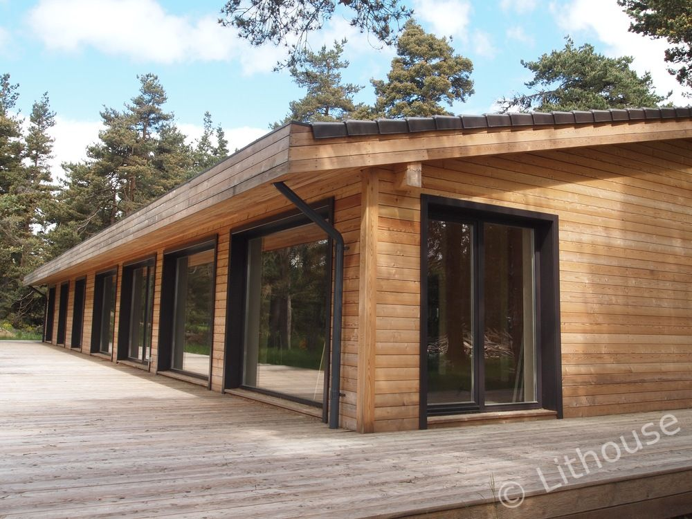 Flo U0026 Eric House: Modern, Extremely Well Insulated   Eco Friendly Wooden  Houses