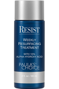 Weekly Resurfacing Treatment 10% AHA... best exfoliant I have EVER used. Makes my skin GLOW. :-)