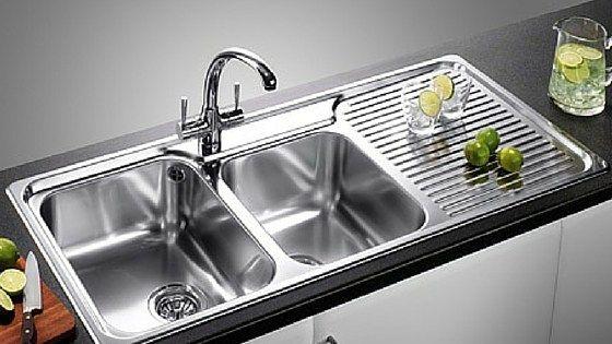 Satin Finish Stainless Steel Kitchen Sinks