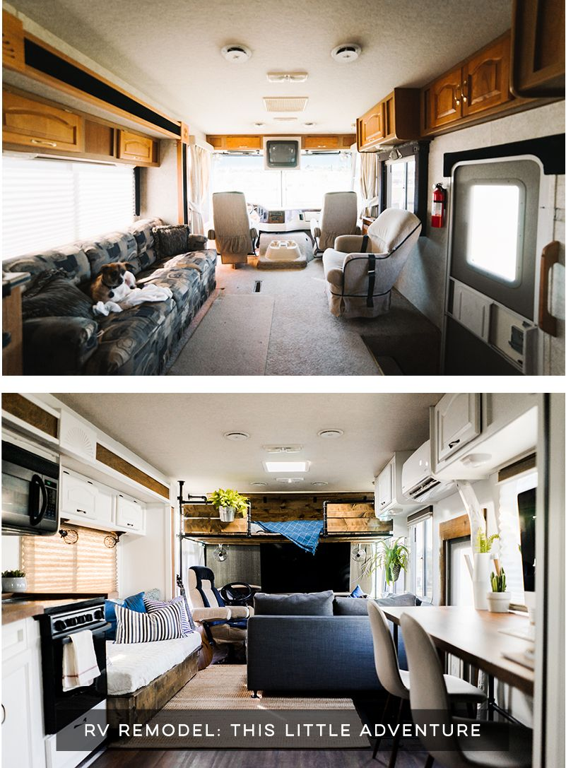 Camper Design Vibes Tour This Creative Rv Renovation With Images