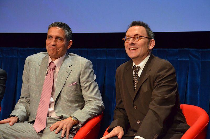 Jim Caviezel, Michael Emerson