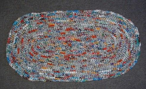 Making A Rug From Plastic Bags