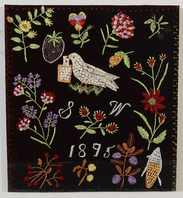 Pictorial Quilt Blocks: dated 1895: Pennsylvania | Folk Art ... : pictorial quilt blocks - Adamdwight.com