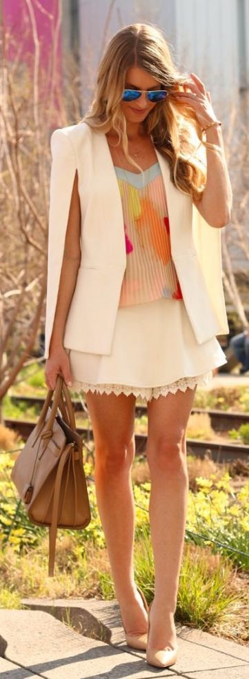 Pleated Top Outfit Idea by Ash N' Fashn