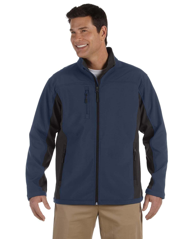 Ash City Mens Tall All Seasons Fleece-Lined Jacket -CLASSIC NAVY XLT 88224T