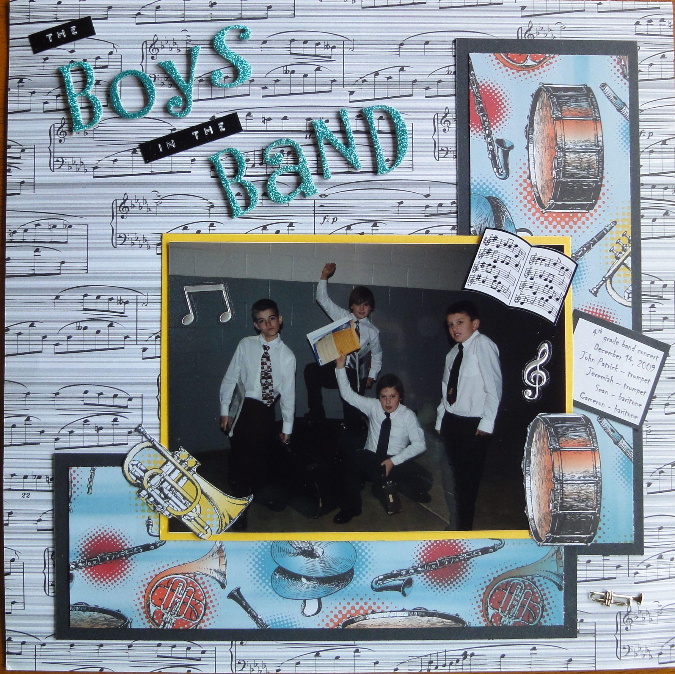 Scrapbook ideas music -  Ver 1 000 Bilder Om Band Scrapbook P Pinterestkonserter Band Och Scrapbooksidor