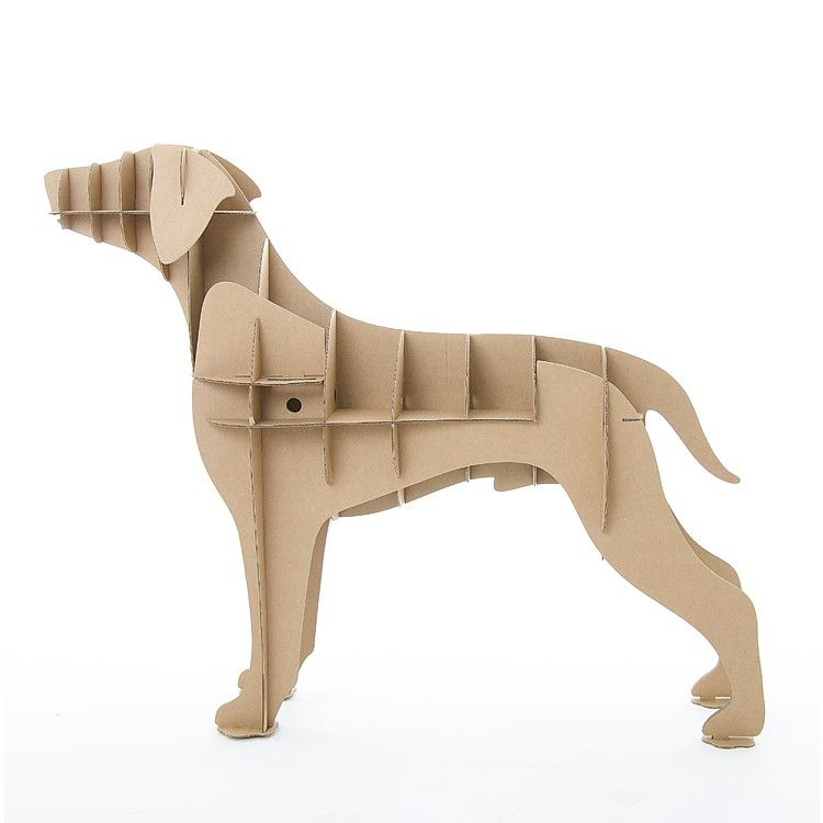 wooden puzzle- laser cutting -cabinet shelf dog Cnc plans template cutting file dog shelf Puzzle 3d Model DOG 3D chihuahua