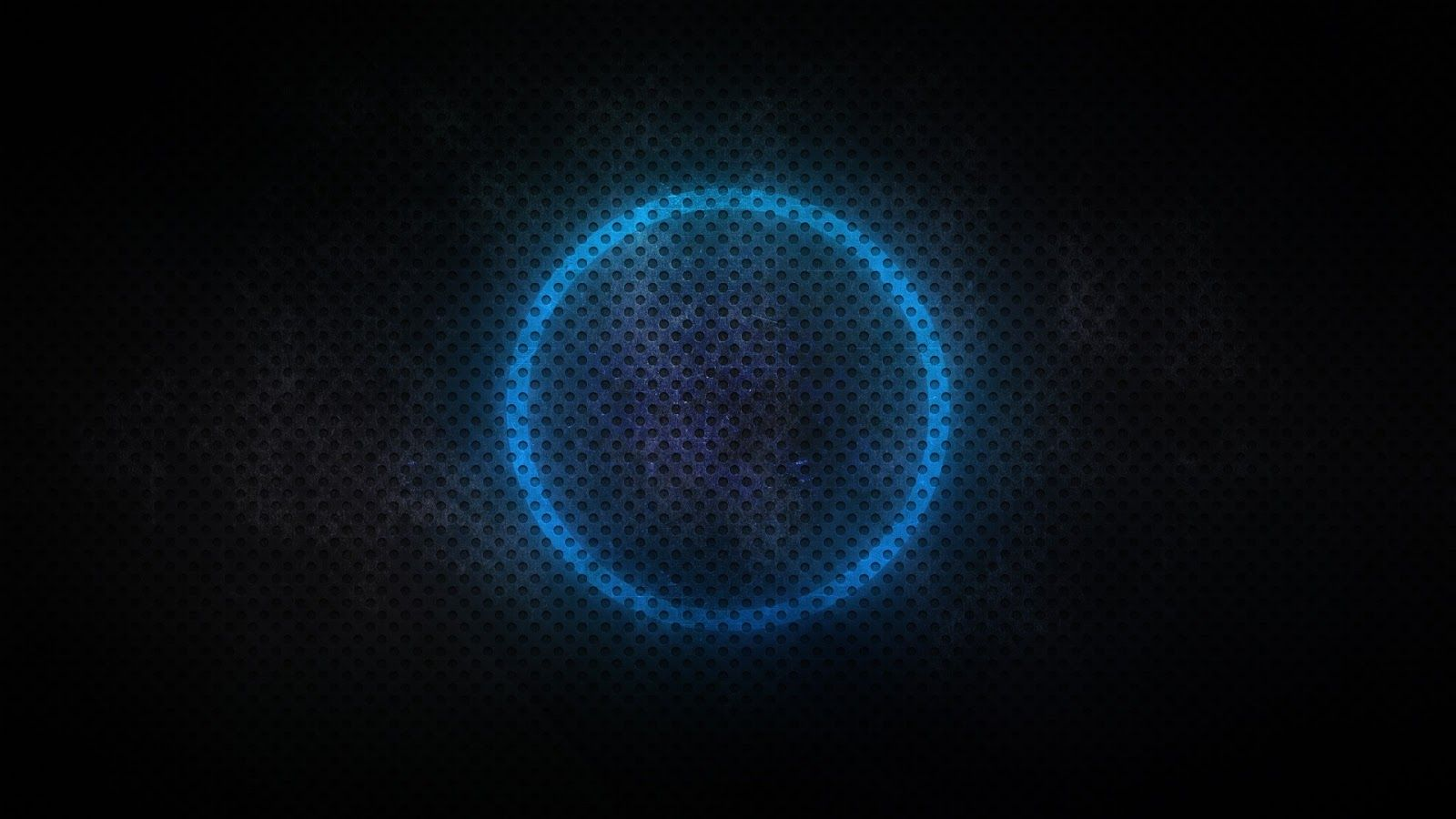 beautiful neon circles 4k - photo #22
