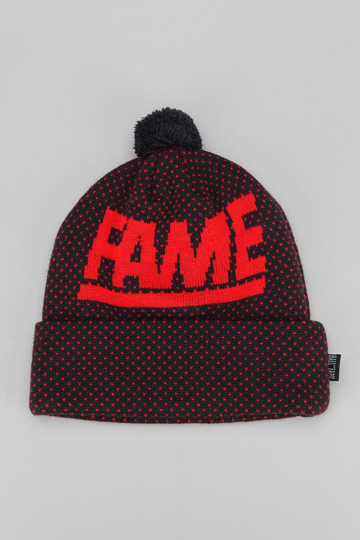 b33dbb80b43 Hall Of Fame Block Cuff Beanie