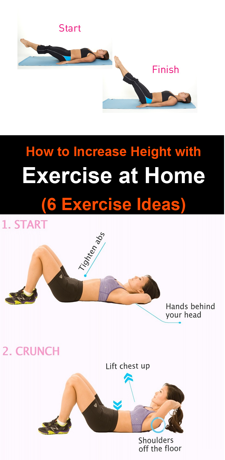 How to Increase Height with Exercise at Home (6 Exercise Ideas) | I ...