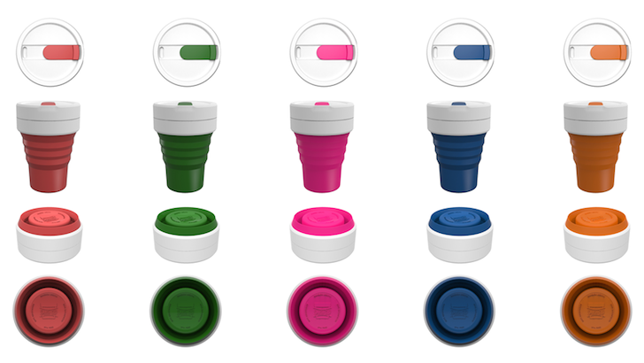 Collapsible Smash Cup Let's You Grab Coffee on the Go Without Producing Waste | Inhabitat - Sustainable Design Innovation, Eco Architecture, Green Building