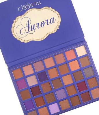 Beauty Creations Aurora 35 Shade Fantasy Princess Story Book Shadow Palette Beauty Creations Eye Palettes Eyeshadow