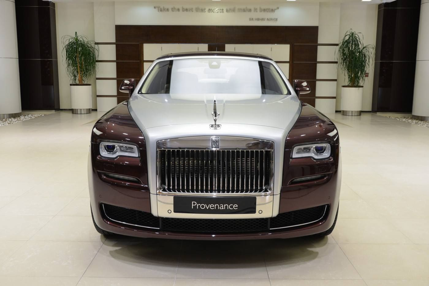 New Rolls Royce >> Used Madeira Red Rolls Royce Ghost Looks As Good As New Luxury