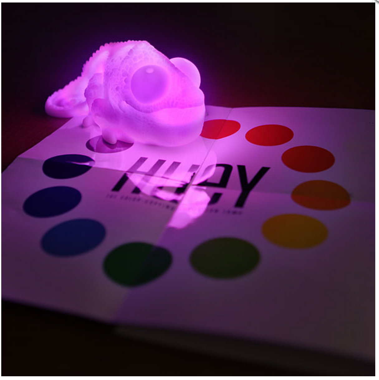 Huey the Color Copying Chameleon Lamp http://www.thinkgeek.com/product/dde2/