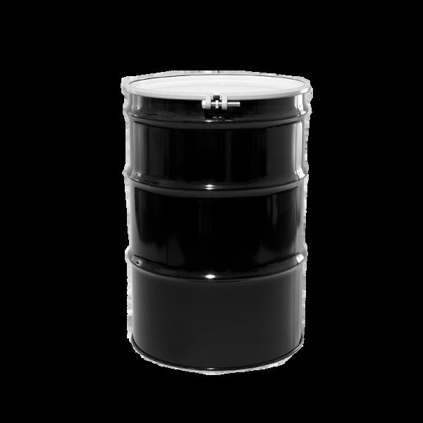 Illing Part 4030bkt 55 Gallon Black Open Head Unlined Steel Drum Un Rated Open Head 55 Gallon Steel Drums A Steel Drum 55 Gallon Steel Drum 30 Gallon Drum