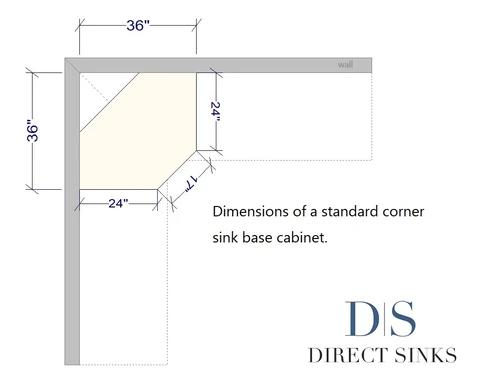 Biggest Sink For A Corner Sink Base Cabinet Corner Kitchen Sink Corner Sink Corner Sink Kitchen Base Cabinets