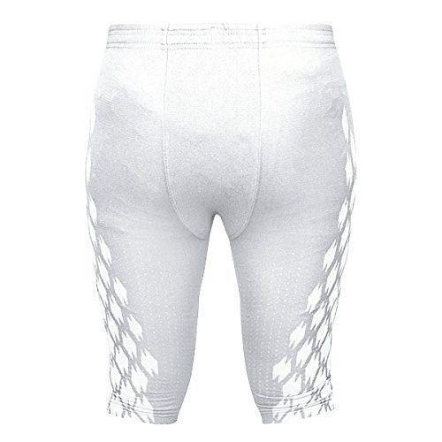 big sale c7409 50207 Adidas Mens Techfit Primeknit Football Pant 3XL White, Size ...