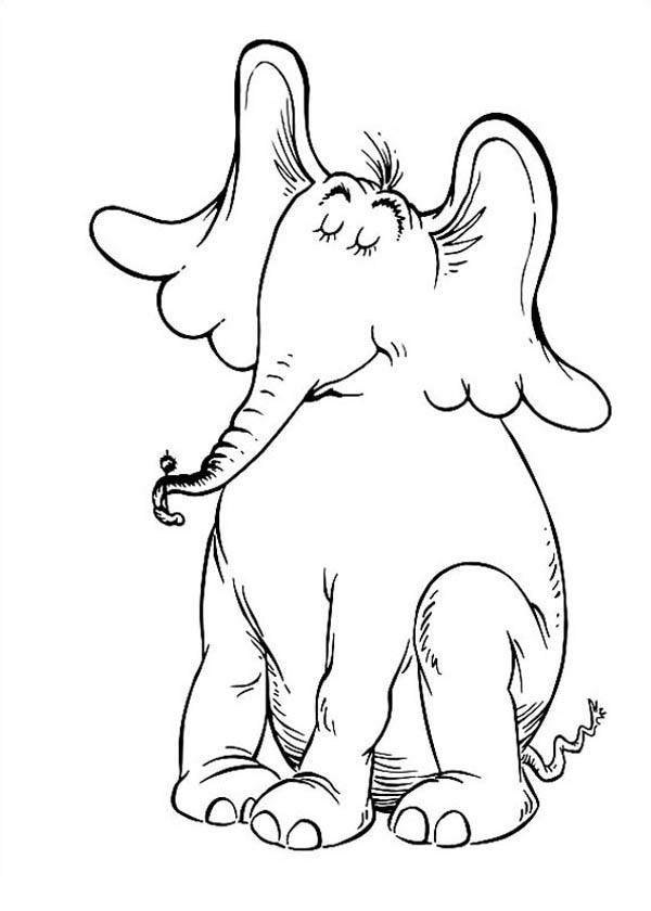 Horton Hears A Who Is Proud Of Top Of Clover Coloring Pages Bulk Color Dr Seuss Coloring Sheet Dr Seuss Coloring Pages Coloring Pages Inspirational