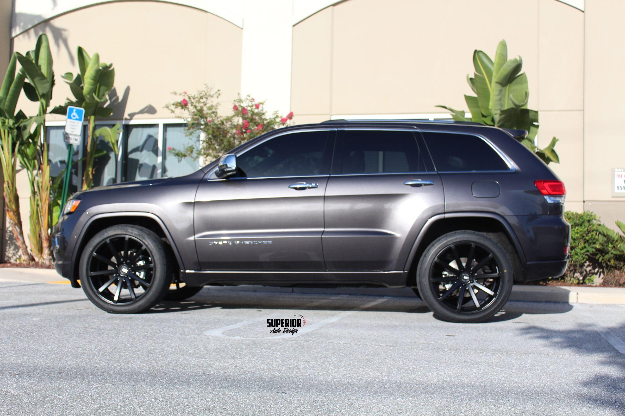 2014 Jeep Grand Cherokee Overland 22 Xo Tokyo Wheels Nitto