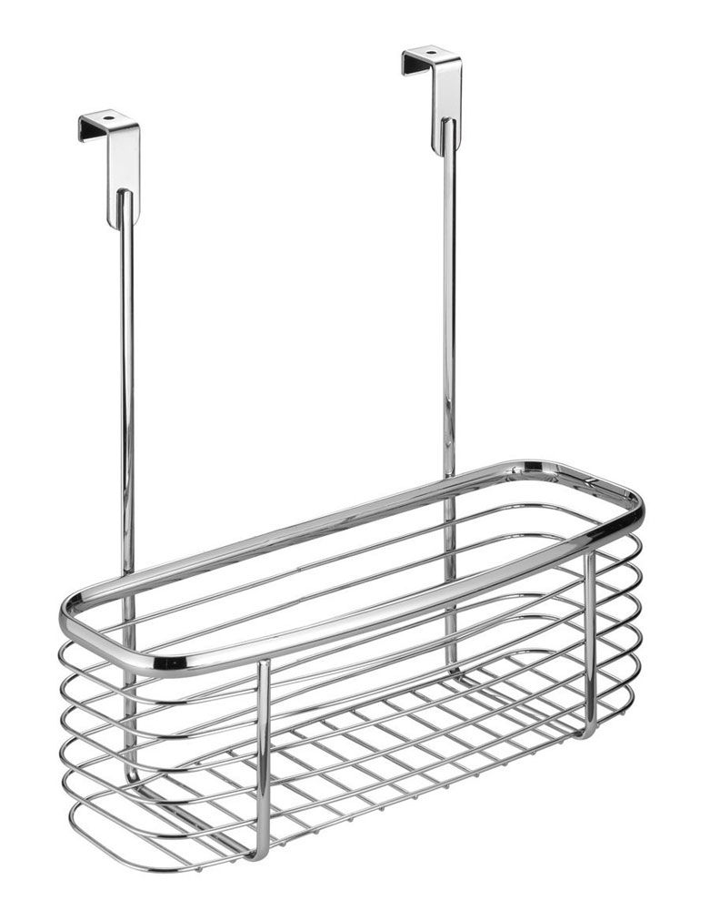 Axis Chrome Over Cabinet Storage Basket Gives You Easy Accessible