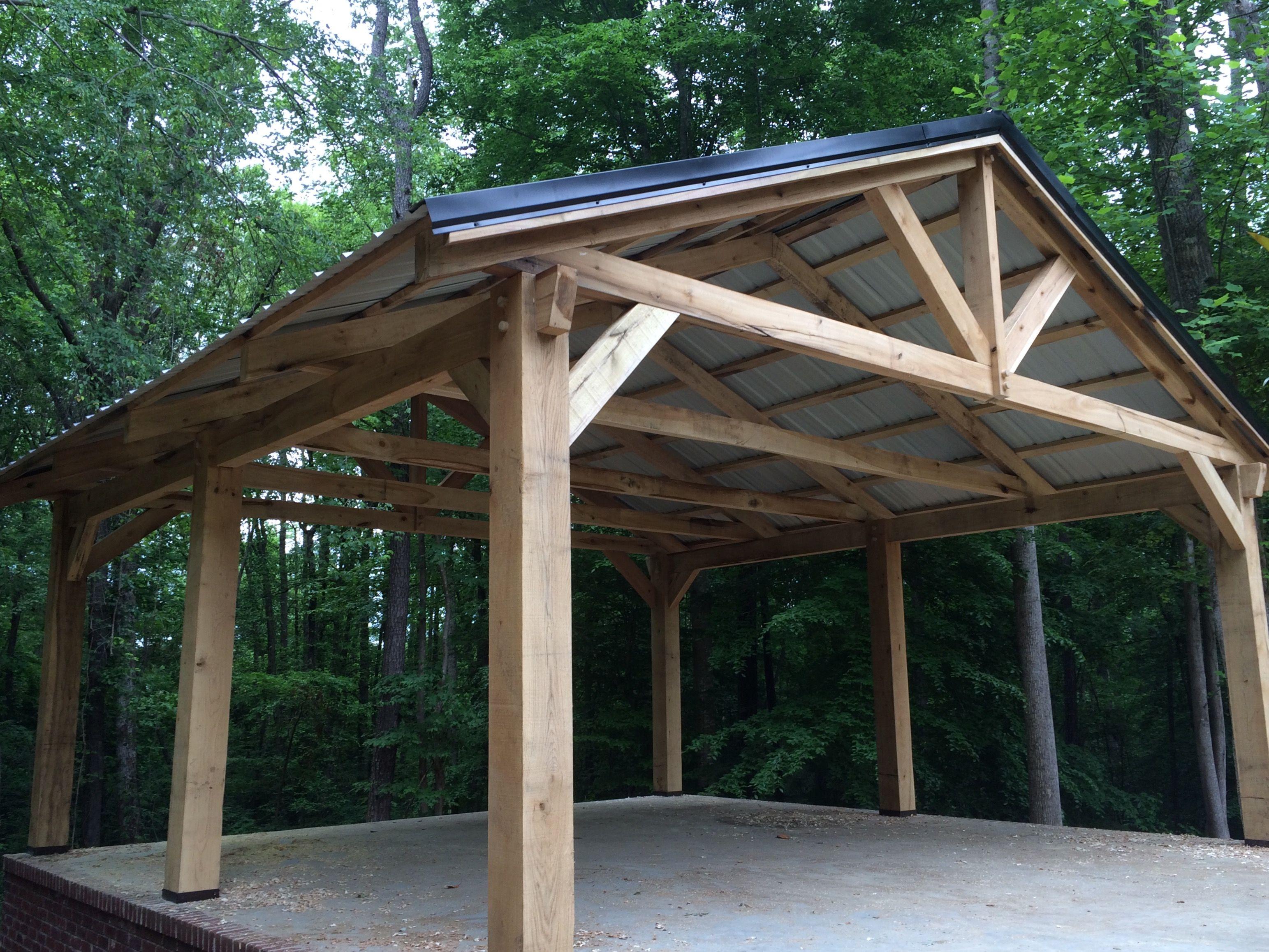 2 560 16x16x8 Kit 4 000 20x20x8 Kit 256 390 3300 With Images Backyard Pavilion Backyard Patio Designs Carport Designs