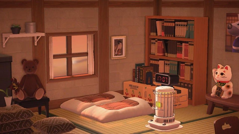 I Designed A Chill Japanese Inspired Room Animalcrossing Animal Crossing Japanese Animals New Animal Crossing