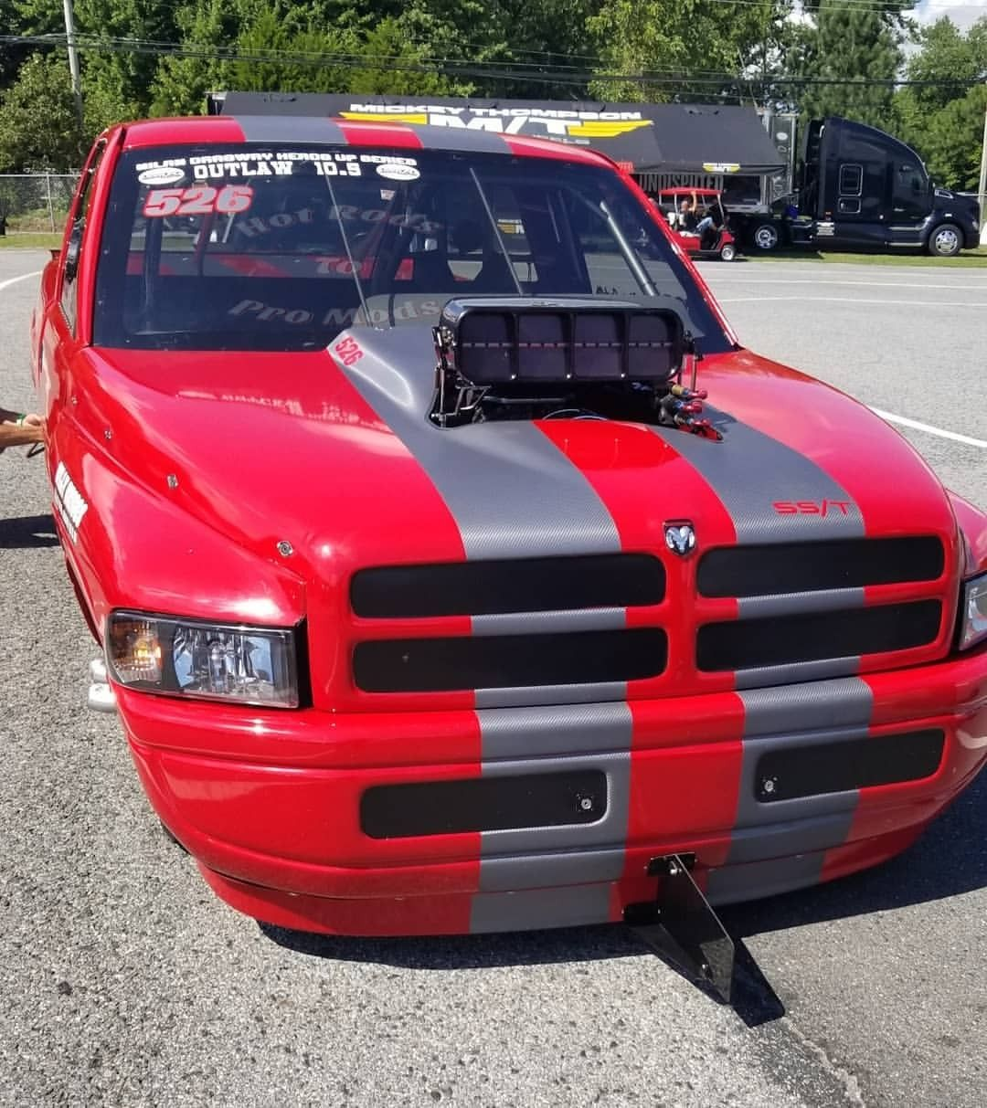 Chris Cadotto S 1997 Dodge Ram Yellowbullet Nationals 2018 Hotrodstopromods Doorwarz Car Carlifestyle Cars Dodge Classic Cars Best Muscle Cars