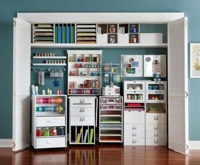 Charming Closet Craft Room