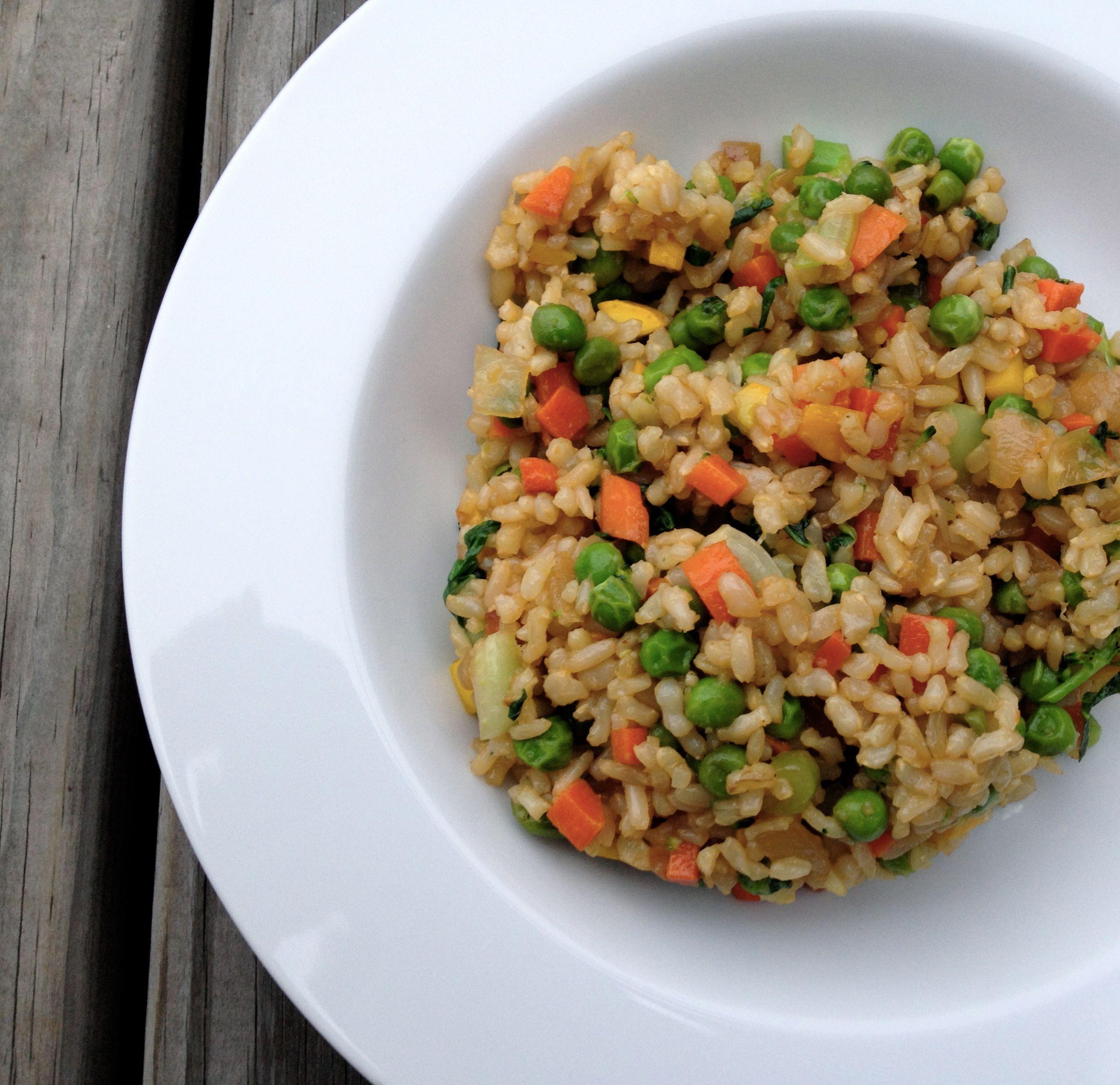 Vegan fried rice whenever i make rice i always make double or vegan fried rice whenever i make rice i always make double or triple what i ccuart Choice Image