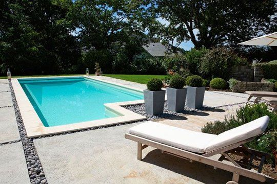 amenager autour piscine beton piscine pinterest On decoration de piscine