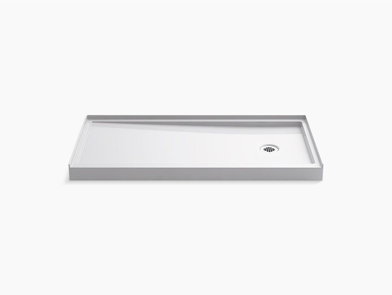 K 8642 Rely Shower Base 60 X 30 Inch Right Drain Kohler