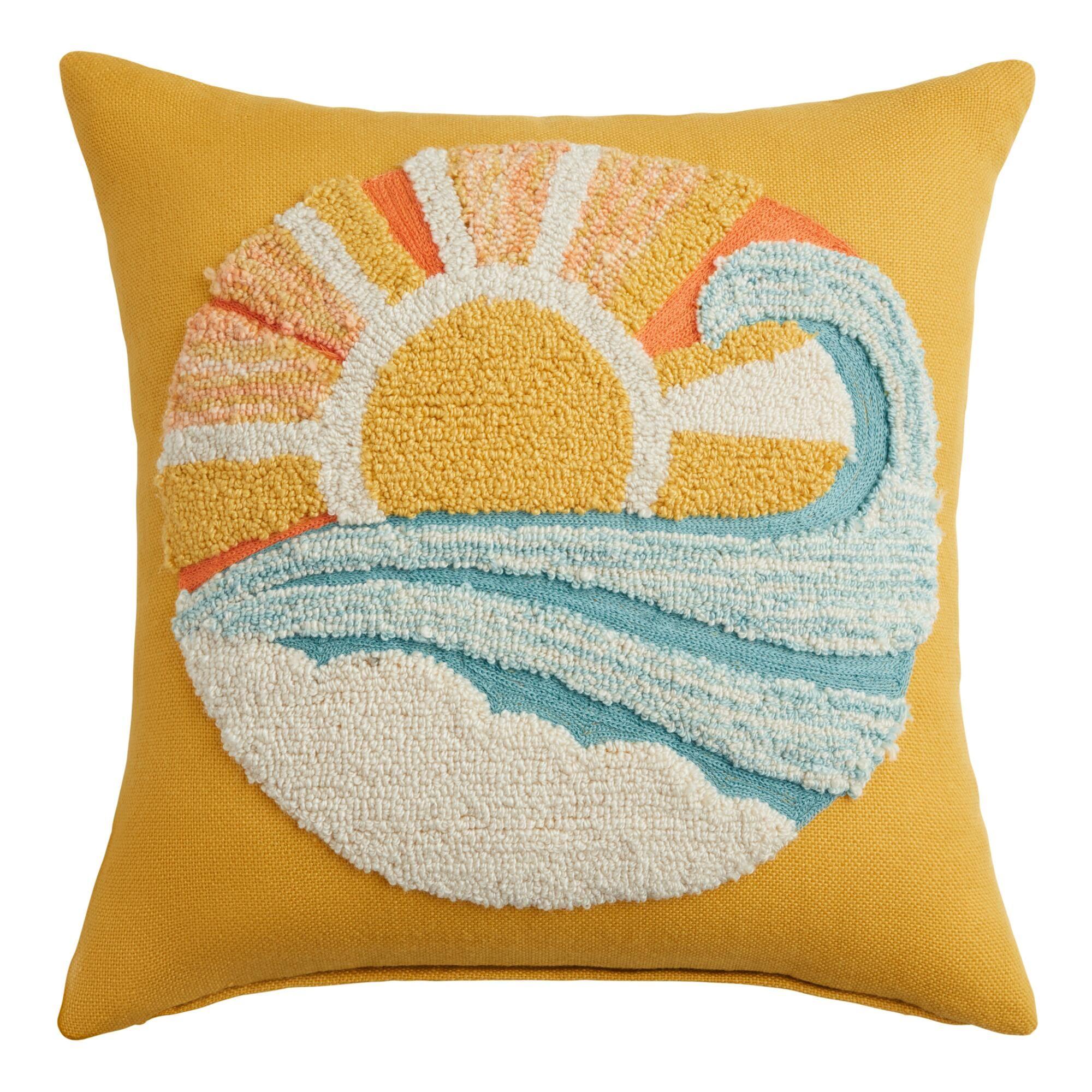mind indoor outdoor patio throw pillow