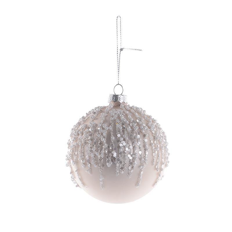 Ball Balls Decorations Christmas Glass Ball Set Of 6 Pieces  Balls  Ornaments
