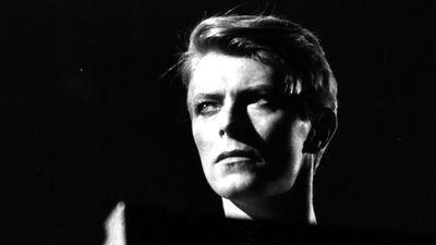 David Bowie 1978 während eines Konzerts in London