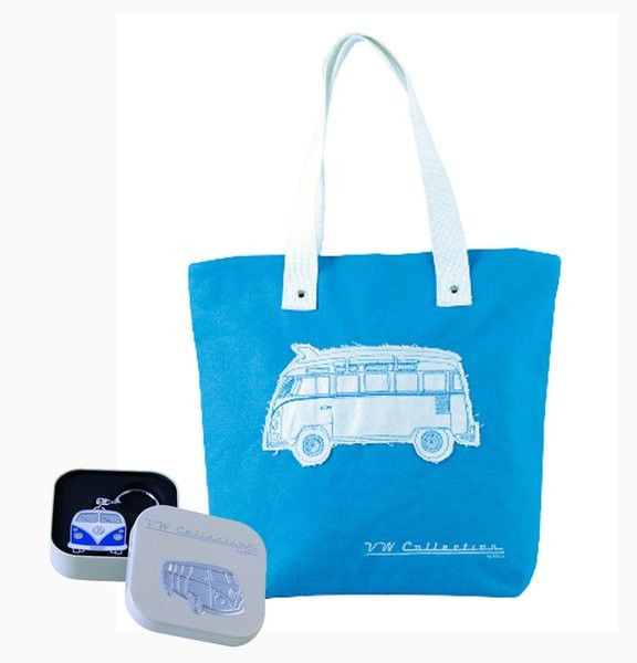 VW Bus Tote Bag & Key Ring Gift Set  Introducing the New VW Collections at www.coolvwstuff.com Hundreds of Officially Licensed Volkswagen Products and Ship Globally!