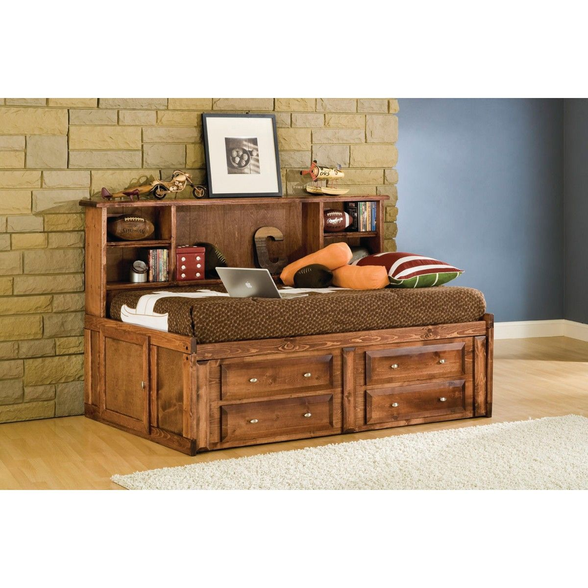 conns bedroom furniture. Visions Studio Bedroom  Bed Underdresser Twin Cocoa 4315 Conn s