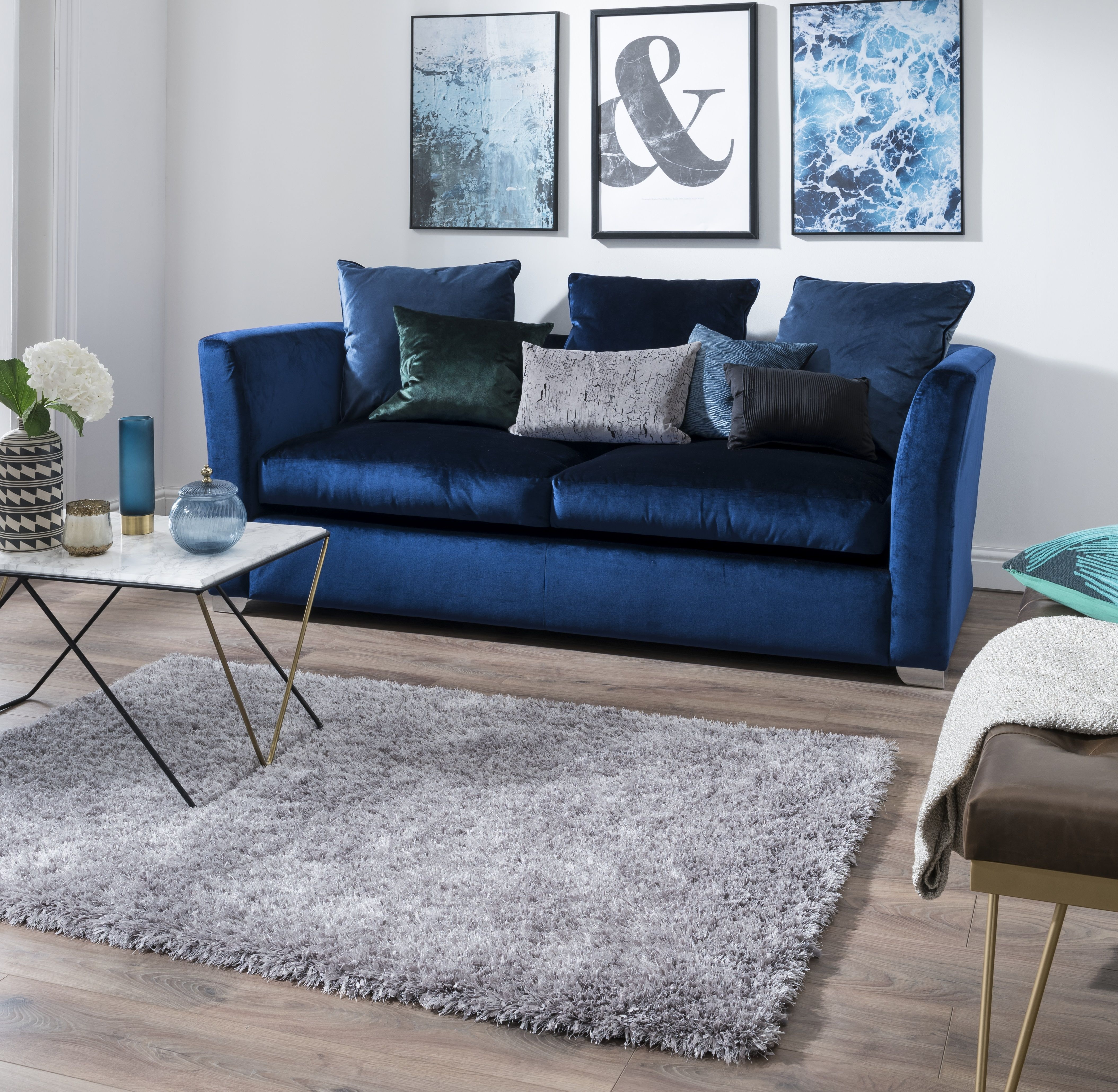 Pin by Carpetright on Our latest rugs Silver rug, Rugs