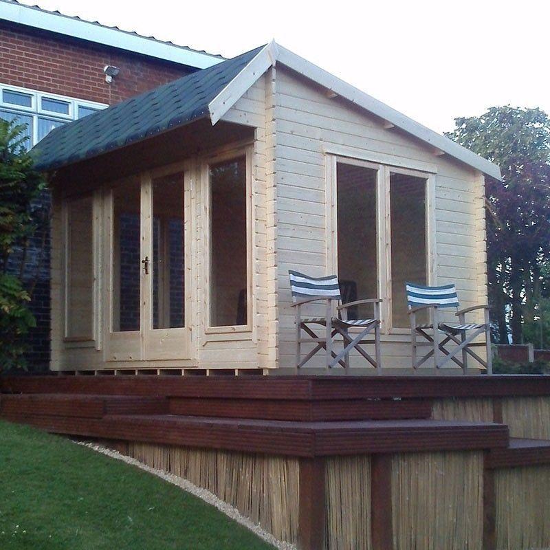 Shire Wykenham 10x12 Log Cabins (34, 44, 70 mm