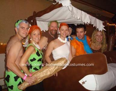 coolest flintstones group costume - Flinstones Halloween
