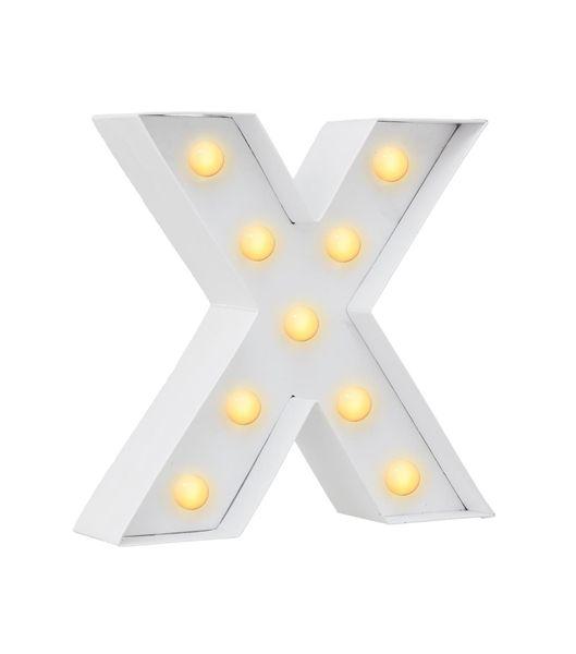 DIY letterlamp X - HEMA - InstaSwap | Pinterest - Kerst