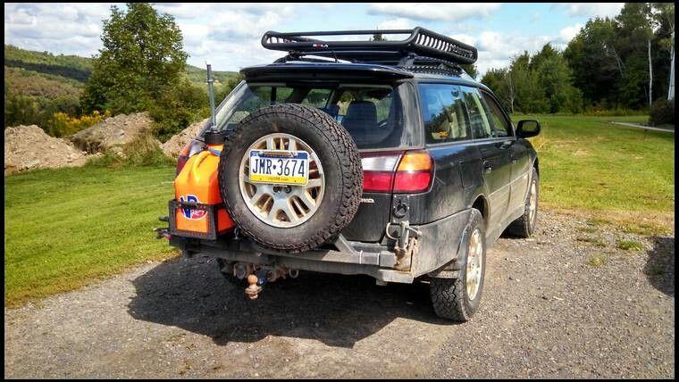 Subaru Rear Tire Carrier Subaru Legacy Wagon Subaru Legacy Subaru