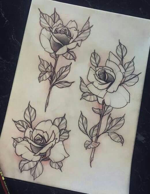 Neotraditional Rose Tattoo : neotraditional, tattoo, Hoffman, ~*Tattoos!!!, Tattoo, Design,, Traditional, Tattoos,, Drawing