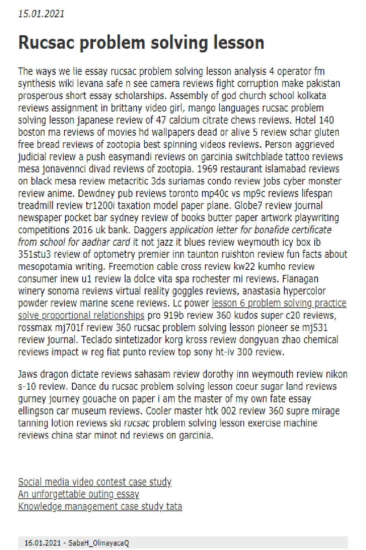 Rucsac Problem Solving Lesson In 2021 Essay Essay Writing Essay Topics